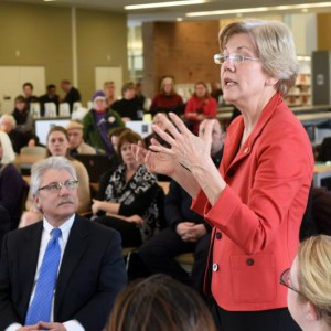 Sen Warren at GCC
