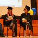 Speakers shared their inspiration at the graduation ceremony for HEC Academy students today.