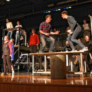 PVRS Students perform Rent, photo by Paul Franz