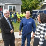 'We don't come with the house' FCTS students built Erving home with help from GSB Foundation
