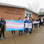 PVRS students walk out in support of transgendered individuals