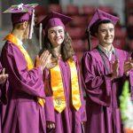 AMHERST REGIONAL HIGH SCHOOL  Grads urged to 'change the world'