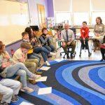 Sen. Adam Hinds talks about environment, plastic straws at Conway Grammar School