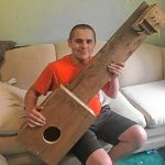 Making music: Pioneer students design homemade instruments for music, engineering project