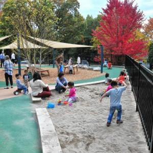 Crocker Farms Elementary School playground photo by Kevin Gutting