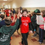 Gill Elementary Global Finals team gets schoolwide send-off
