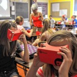 The classroom hits the virtual road