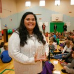 Greenfield teacher wins national award for sharing personal story