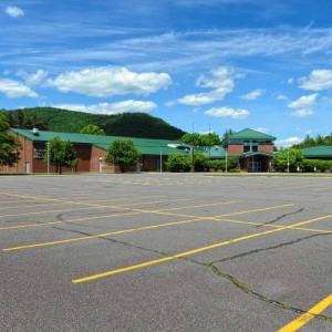 Mohawk Trail Regional School, photo by Paul Franz