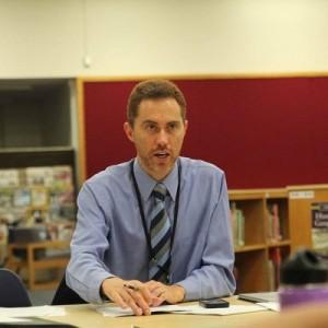 Amherst Superintendent Michael Morris