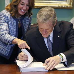 Governor Baker and Lt. Governor Polito