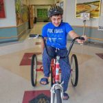 Sunderland school gets adaptive tricycle