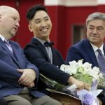 New Bedford High School's Takeru Nagayoshi is Mass. Teacher of the Year