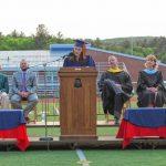 A cross-generational message  Mahar graduates hear meaningful message from school's namesake
