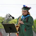 Greenfield High School honors 2020 graduates with fairgrounds ceremony